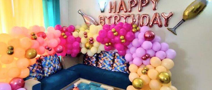 birthday decor for wife
