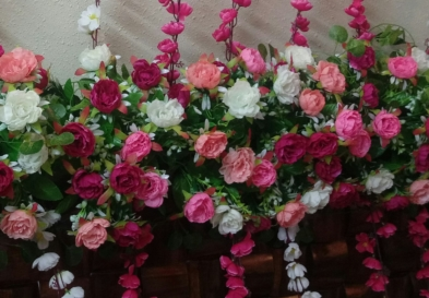 Floral decoration wedding
