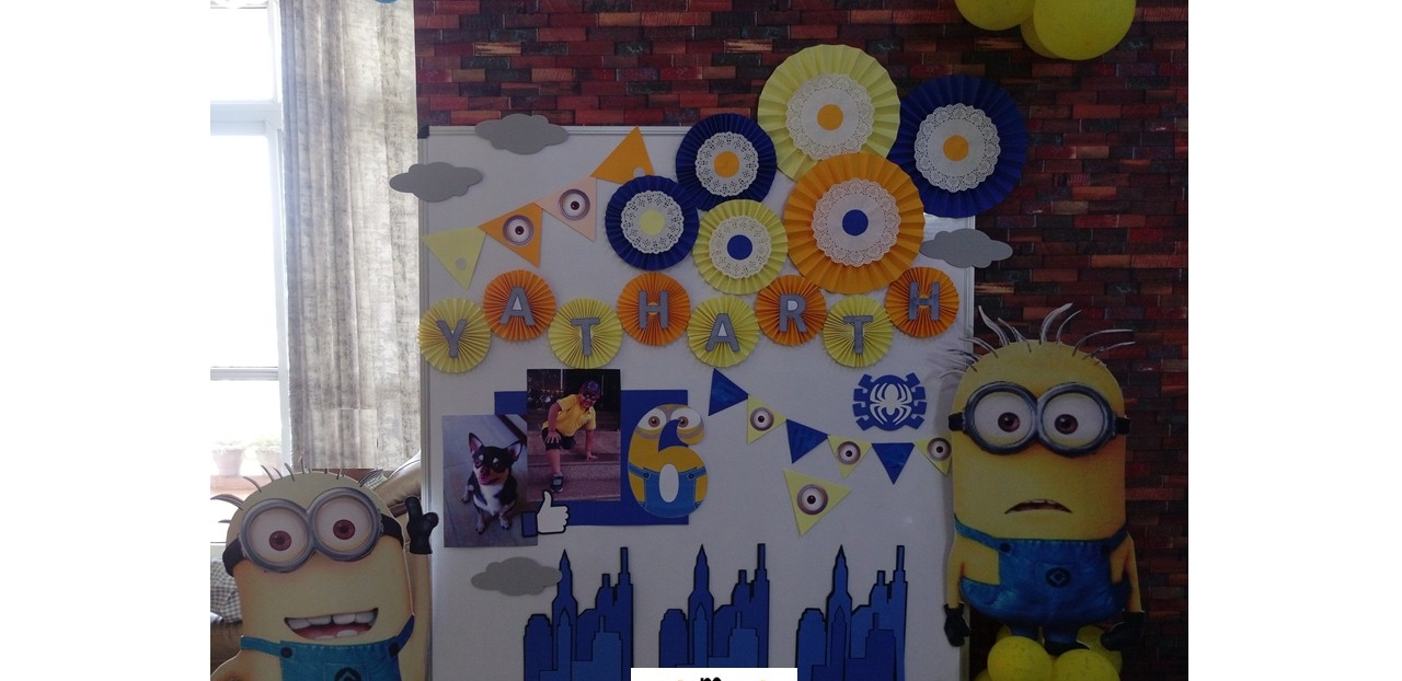 Minions theme decoration