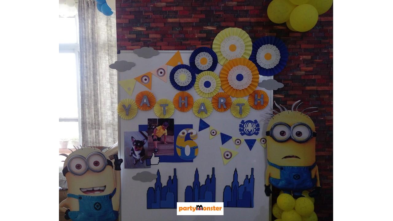 Minions theme decoration
