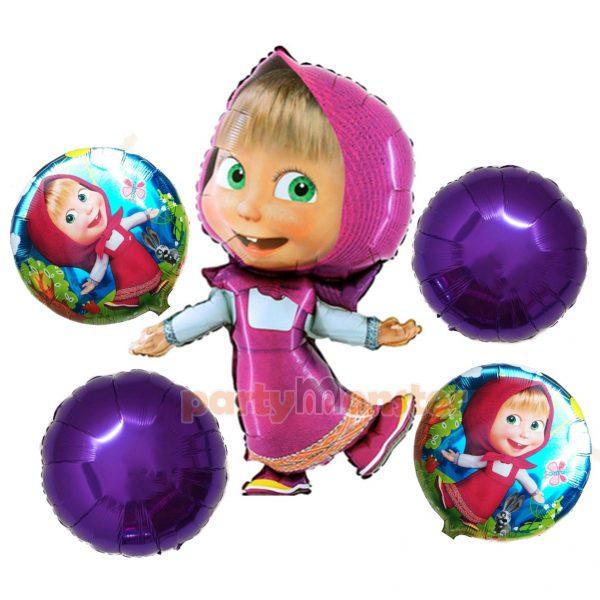 Masha and the Bear Foil Balloons