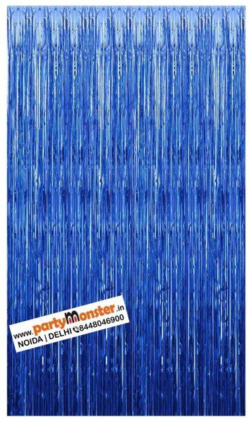 Foil Curtain Blue