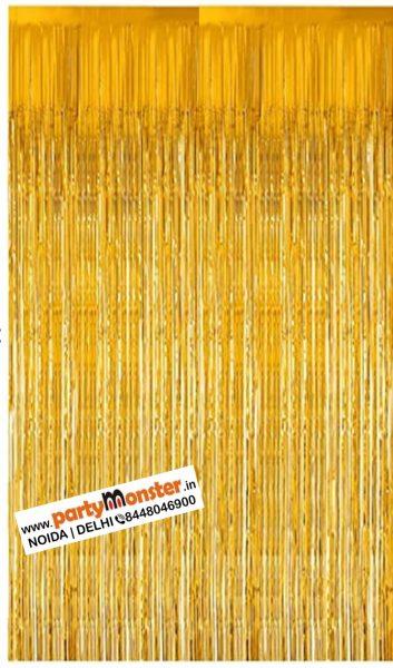 Foil Curtain Golden