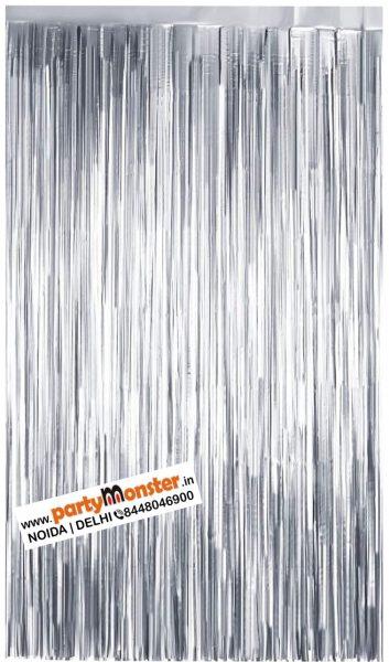 Foil Curtain Silver