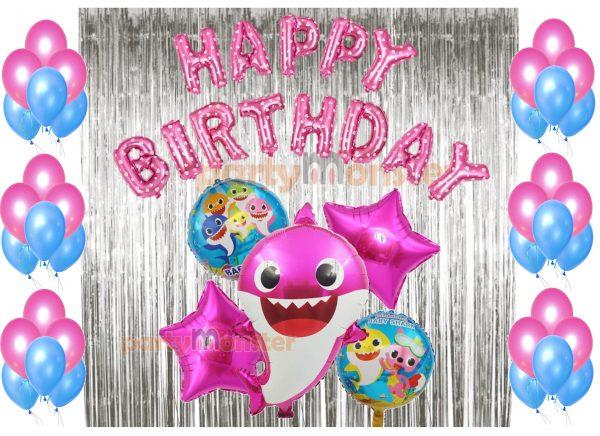 Baby Shark Decoration Combo – Pink